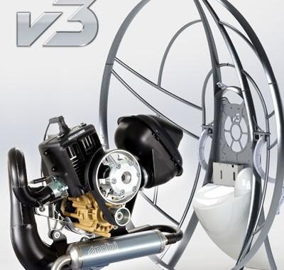 Parajet Unveils New Volution 3 Paramotor
